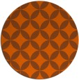rug #253105 | round red-orange circles rug