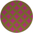 rug #253169 | round light-green circles rug