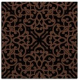 rug #253561 | square brown traditional rug