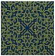 rug #253581   square blue popular rug
