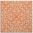 rug #253741   square orange popular rug