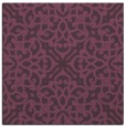 rug #253769 | square purple traditional rug