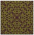 rug #253773   square purple damask rug