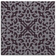 rug #253781 | square purple damask rug