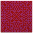 rug #253797 | square red traditional rug