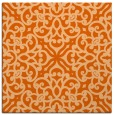 rug #253805 | square red-orange traditional rug