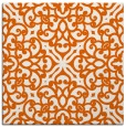rug #253813 | square red-orange traditional rug