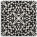 rug #253817 | square white traditional rug