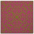 rug #253873   square light-green damask rug