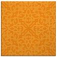 rug #253889 | square light-orange damask rug