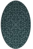 rug #253969 | oval traditional rug