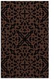 rug #254265 |  brown traditional rug