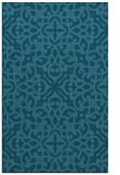 rug #254297 |  blue-green traditional rug