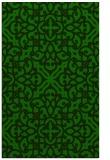 rug #254317 |  green traditional rug