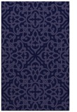 rug #254333 |  blue-violet traditional rug