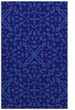 rug #254353    blue-violet traditional rug