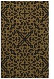 rug #254365 |  mid-brown damask rug