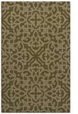 rug #254369 |  brown damask rug