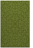 rug #254373 |  green damask rug