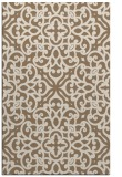 rug #254401 |  mid-brown traditional rug