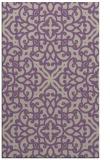 rug #254429 |  purple traditional rug