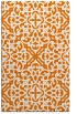 rug #254441 |  orange traditional rug