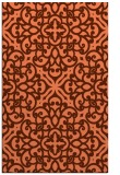 rug #254449 |  orange traditional rug