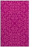 rug #254457 |  pink damask rug