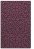 rug #254473 |  purple traditional rug