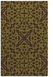 rug #254477 |  purple damask rug