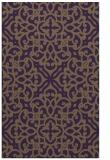 rug #254481 |  purple damask rug