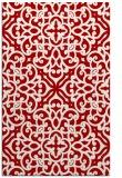 rug #254489 |  red popular rug