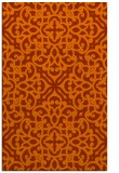 rug #254505 |  red-orange traditional rug