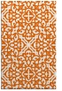 rug #254517 |  red-orange traditional rug