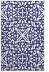 rug #254529 |  blue damask rug