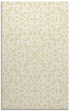 rug #254541 |  yellow damask rug