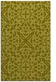 rug #254569 |  light-green damask rug