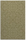 rug #254573 |  light-green damask rug