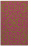 rug #254577 |  light-green damask rug