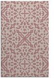 rug #254589    pink traditional rug