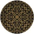 rug #254622   round damask rug