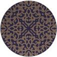 rug #254709   round beige damask rug