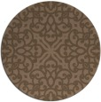 rug #254712 | round damask rug