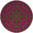 rug #254774 | round damask rug