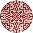 rug #254849   round traditional rug