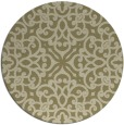 rug #254936   round damask rug