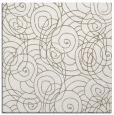 rug #257065 | square white natural rug