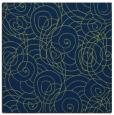 rug #257101 | square blue natural rug
