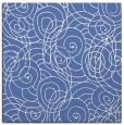 rug #257105 | square blue rug