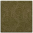 rug #257185 | square mid-brown circles rug